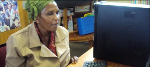IkamvaYouth showcases the Masiphumelele Library partnership… in Gabarone!