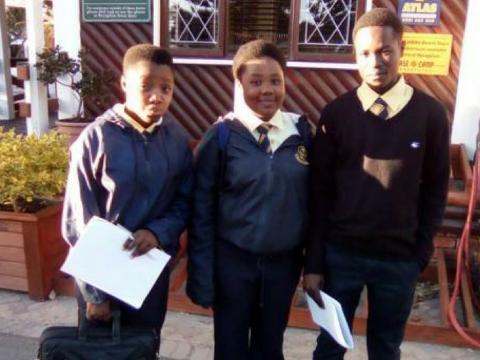 Department of Water and Sanitation awards 2 Mahikeng learners with bursaries