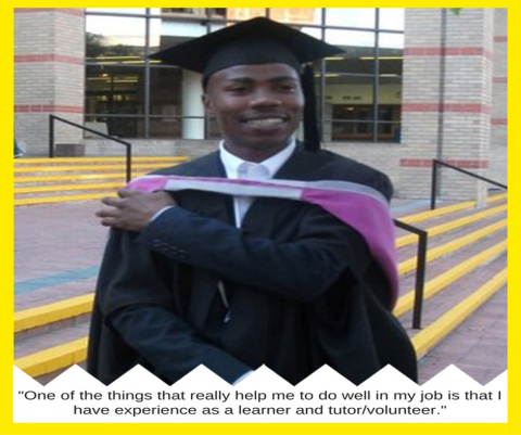 From learner, to tutor, to staff and beyond…