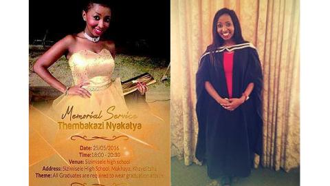 Ikamvanites are grieving the death of Thembakazi Nyakatya